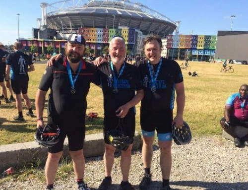 RUKGROUP Commercial Director, Simon Marsden, completes 145 mile bike ride for Prostate Cancer UK